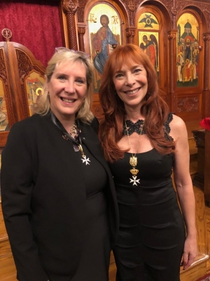 Dame Marie Diamond and Dame Nicole Brandon