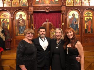 Dr Cherie Clark, Daniel Schmachtznberger, and Marie Diamond